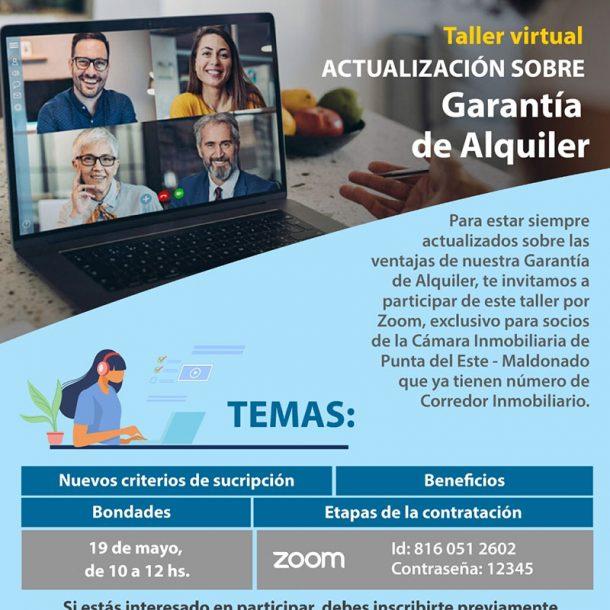 Taller Virtual Actualización Garantía De Alquiler De Porto Seguro